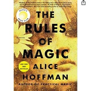3/$25 The Rules Of Magic by Alice Hoffman.